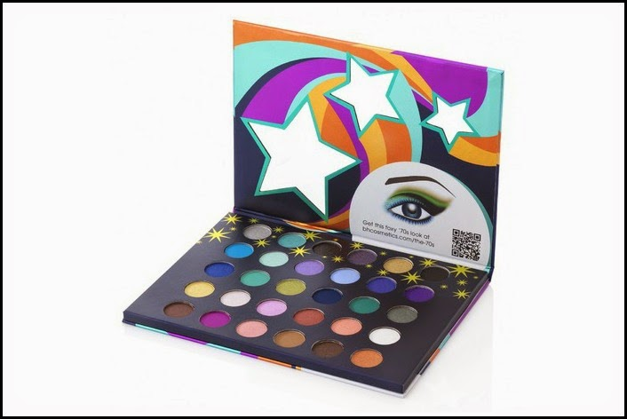 New eyeshadow palettes from BH Cosmetics! Eyes on the Seventies