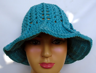 Crochet Watermelon Sun Hat ~ Repeat Crafter Me