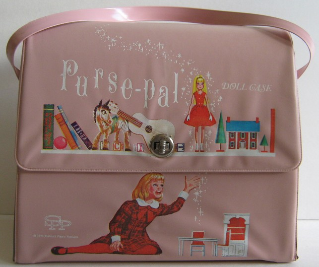 Purse Pal : THE FASHION DOLL REVIEW: Vintage Skipper purse-pal doll case