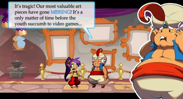 Screenshot of video game Shantae: Half-Genie Hero