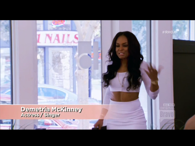 new housewife Demetria McKinney