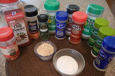 Homemade Ranch Dressing Mix, Italian Seasoning Mix & Taco Seasoning  Spices%2B4