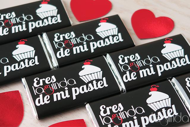 chocolatinas personalizadas