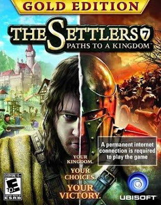 Free Download The Settlers 7 Paths to a Kingdom Deluxe Gold Edition Pc Game Cover
