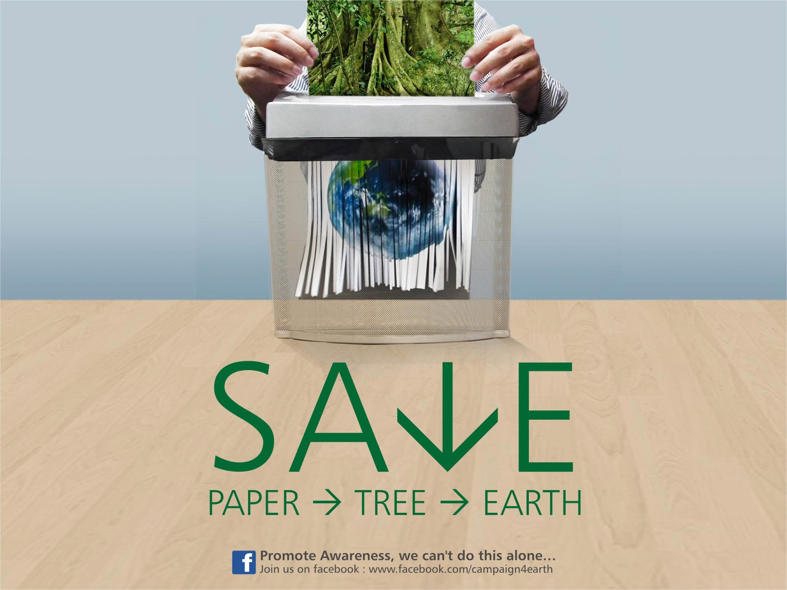 Save Paper. Save the Planet