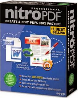 تنزيل برنامج Nitro Pro لانشاء و تحرير ملفات البي دي اف PDF