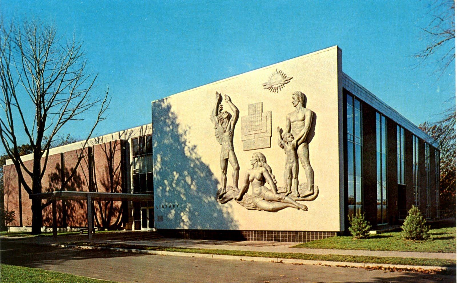 ... : Library, Fairleigh Dickinson University, Teaneck, New Jersey: http://librarypostcards.blogspot.com/2011/11/library-fairleigh-dickinson-university_28.html