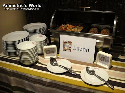 Food from Luzon at Milky Way Cafe