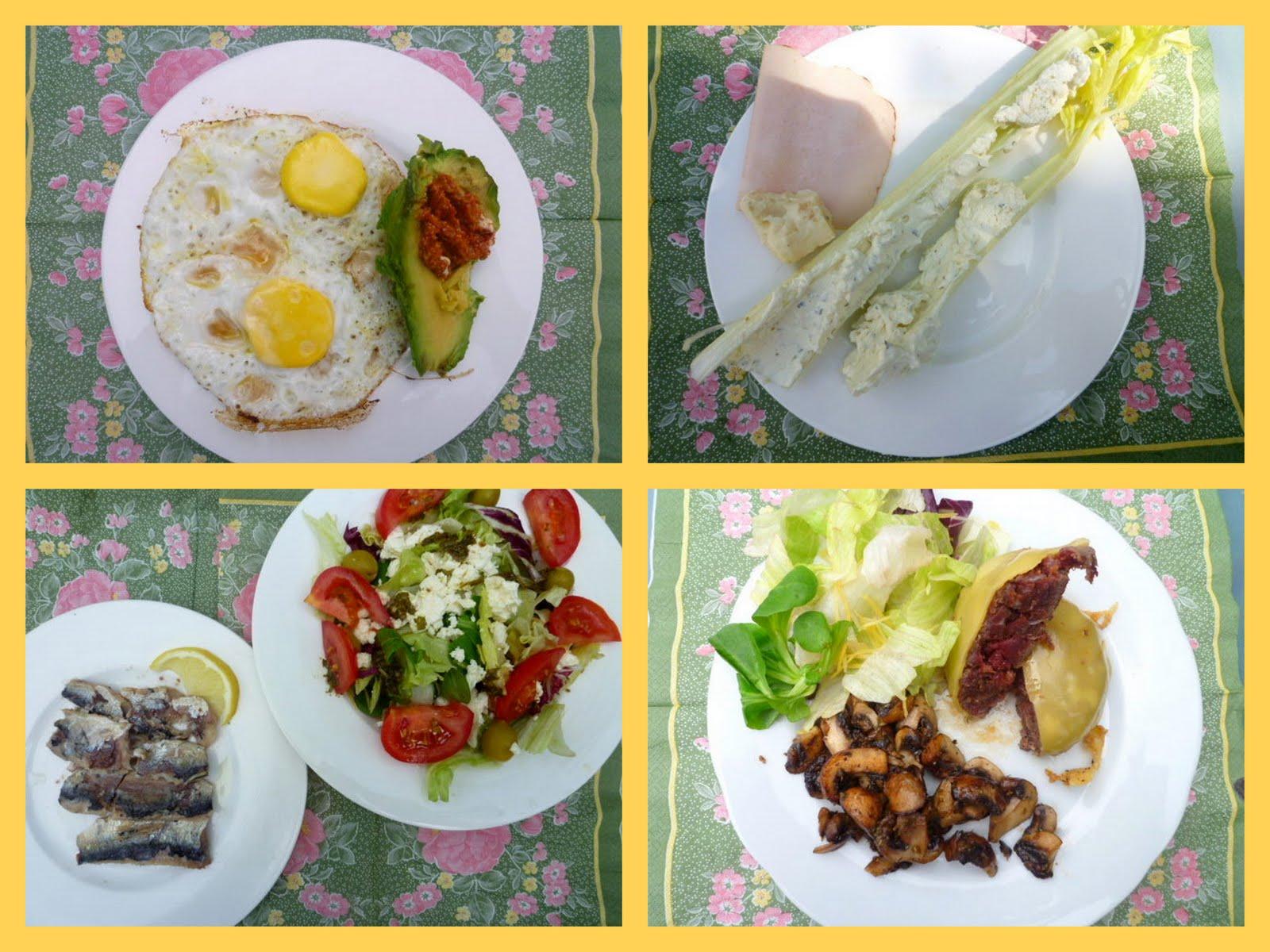 atkins dieet ontbijt