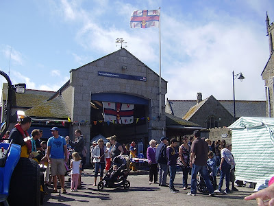 Lifeboat Day - St Ives Cornwall