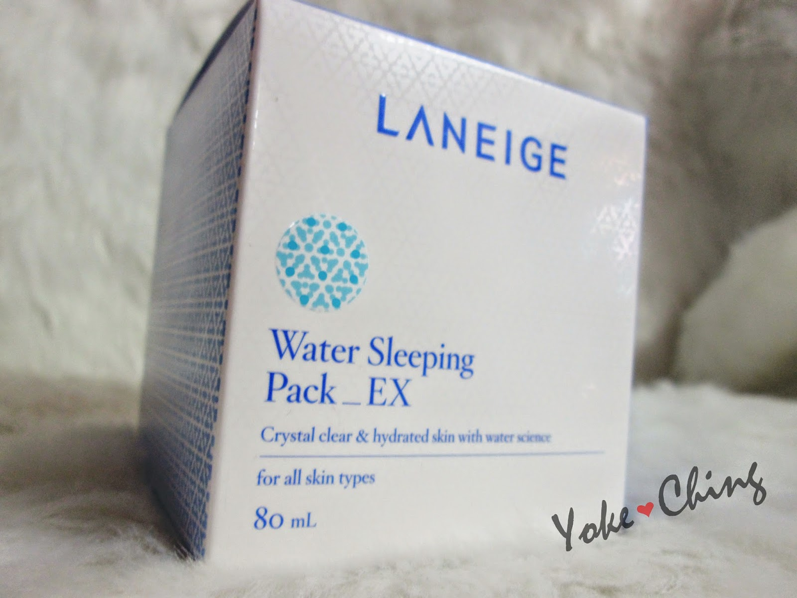 how to use laneige water sleeping pack