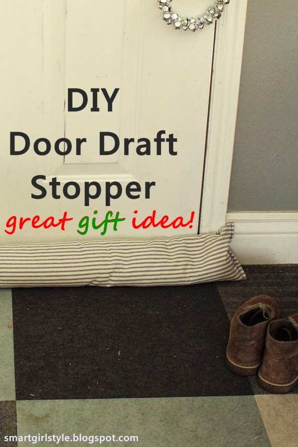 DIY Gift Idea: Door Draft Stopper