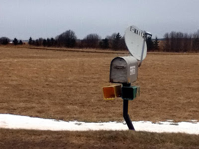 Roadside email inbox