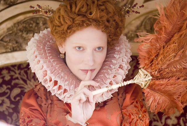 Elizabeth the golden age,Queen Elizabeth,red dress