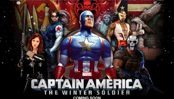 Captain America: The Winter Soldier Upcoming Movie Poster