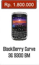 Spesifikasi Dan Harga BlackBerry Curve 3G 9300