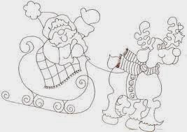 Imagens para pintar de natal