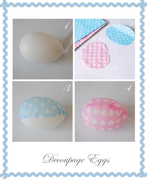 Découpage Eggs by Torie Jayne