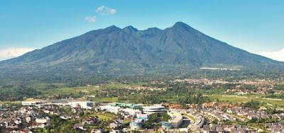 travertin yang berada di kuripan dekat kota Bogor