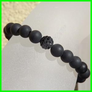 Shamballa Bracelet Onyx6