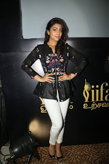 Shriya Saran Stills in Jeans at IIFA Utsavam Press Meet Event 2015