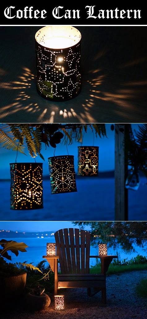 Coffee Can Lantern