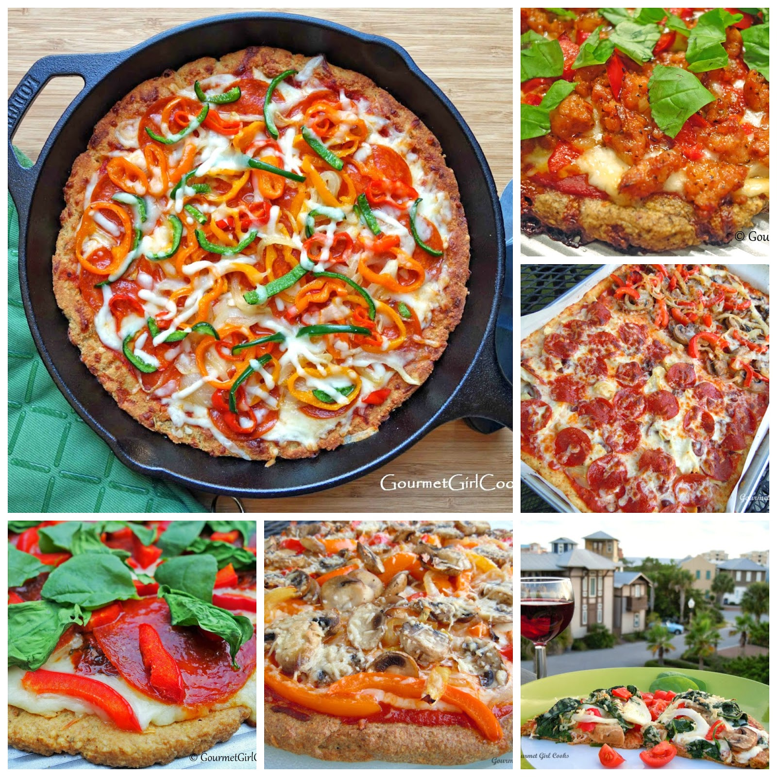 5 Amazing Pizza Crust Recipes - Low Carb, Gluten Free & Delicious!