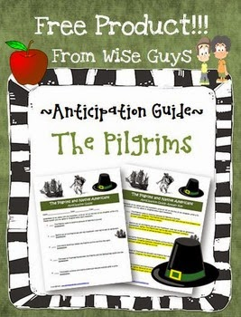 http://www.teacherspayteachers.com/Product/FREE-Thanksgiving-Anticipation-Guide-Pilgrims-Native-Americans-Worksheet-69661