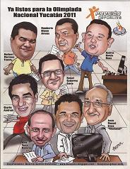 """Caricatura """"Xpresión"""" 2011"""
