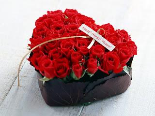 Ramo de rosas para San valentin