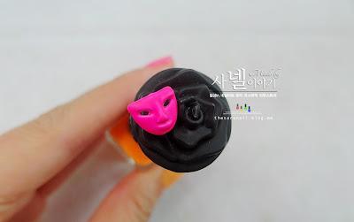 Frenz luminous nail polish, Saturday Night Nail Art