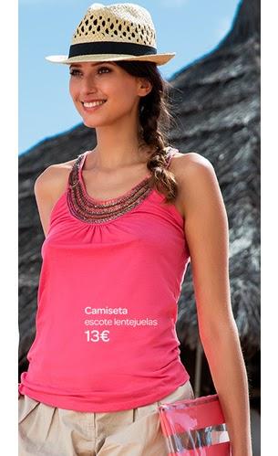 Carrefour Tex camiseta primavera verano