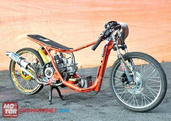 Mio Drag 150cc Foto Motor Drag Yamaha Mio