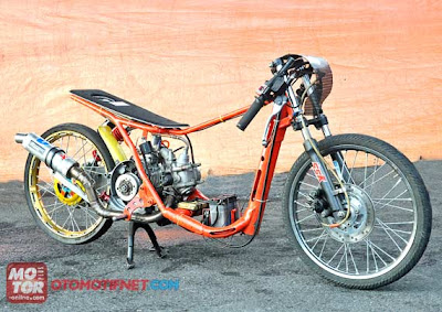 mio drag race modifikasi