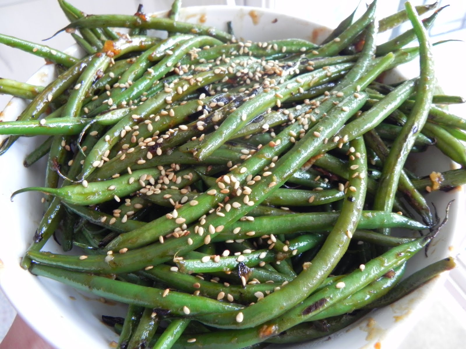 Gift of Simplicity: Spicy Asian Green Beans