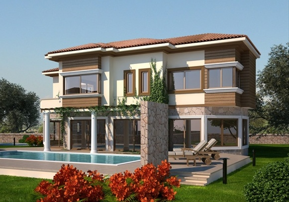 New home designs latest cyprus villa designs exterior views for Villa exterior design
