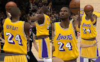 Nba 2k12 la lakers hardwood classic jersey patch nba2k org