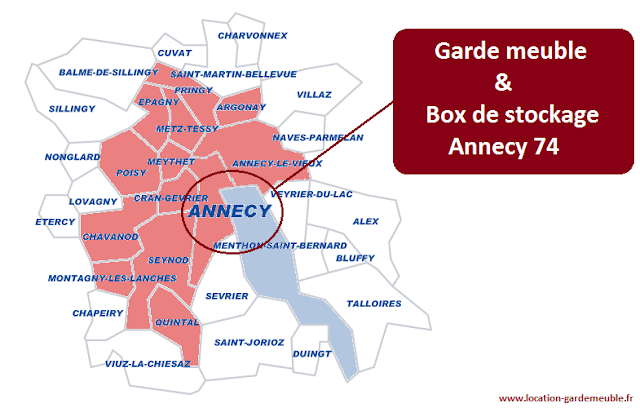 Garde meuble annecy box de stockage annecy 74 for Location garde meuble prix