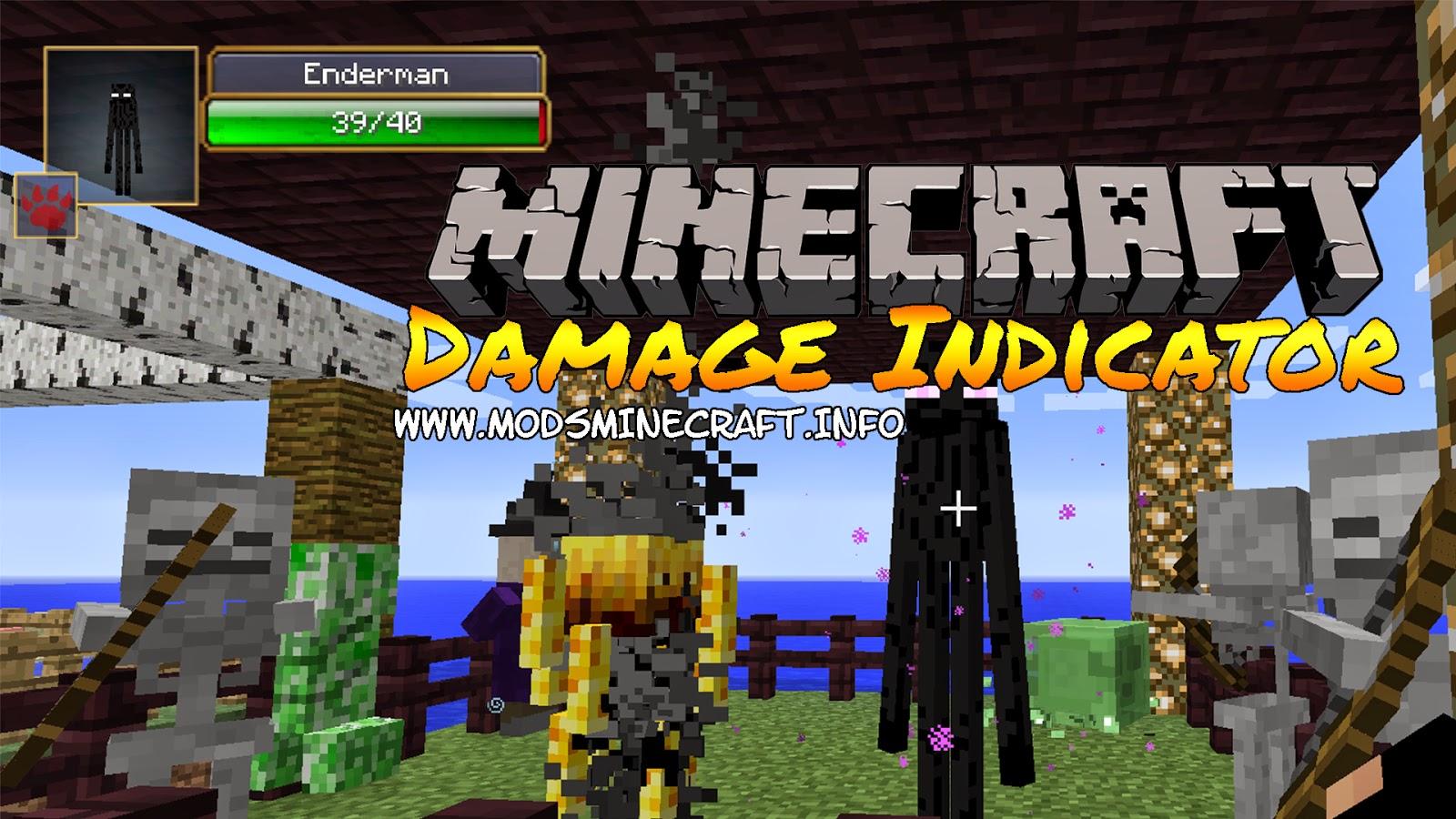 Damage Indicators Mod para Minecraft 1.7.2, Damage Indicators Mod, Damage Indicators 1.7.2, minecraft Damage Indicators Mod, minecraft Damage Indicators 1.7.2, minecraft mod para indicar el daño, minecraft 1.7.2, minecraft mods 1.7.2, minecraft descargar mods 1.7.2, minecraft mods, mods minecraft, cómo instalar mods, cómo instalar mods minecraft, minecraft cómo instalar mods