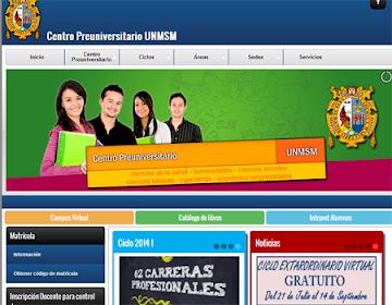 Resultados primer examen centro preuniversitario San Marcos 2014 II, 16 de Noviembre 2014