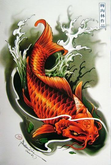 Accademia gilmont italia carpa koi significato tatuaggio for Carpa giapponese prezzo