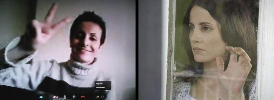 Fadwa Suleyman (actriz siria) activista por la libertad... y buscada por los sicarios de Al-Assad.