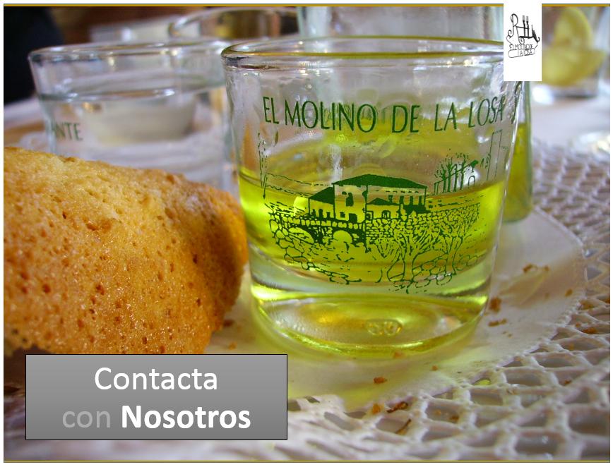 Restaurante Ávila - El Molino de la Losa - Página de Contacto