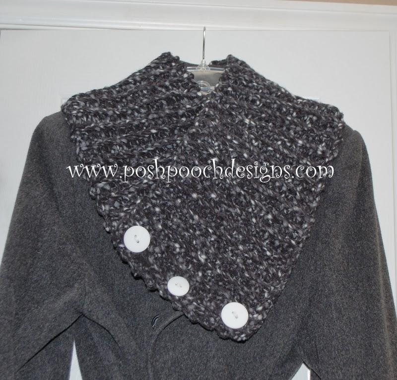 Posh Pooch Designs Dog Clothes: Fleece Cowl Crochet Pattern