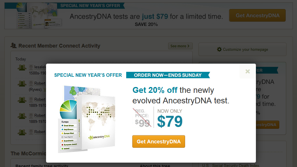 Ancestry dna coupon code 2018