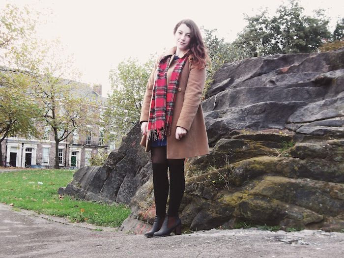 it's cohen - uk style blog: liverpool, ootd, wiwt, autumn fashion, tartan scarf