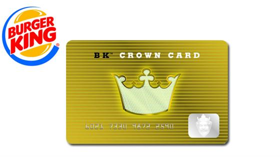 HOT NEW 10 Burger King Crown Card For ONLY 5