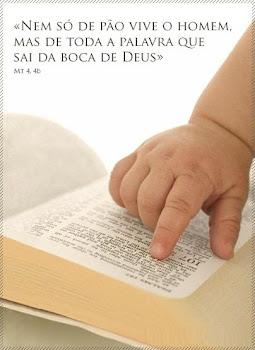 PALAVRA DE DEUS NOS ALIMENTA