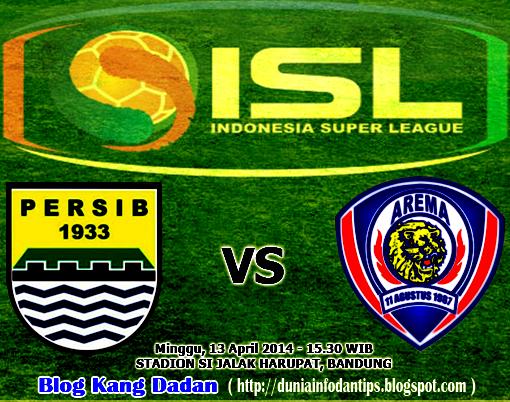 Persib vs Arema Cronus ISL 2014 - Dunia Info dan Tips