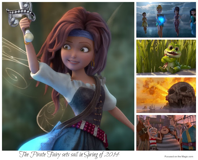 The Pirate Fairy Trailer & Film Stills